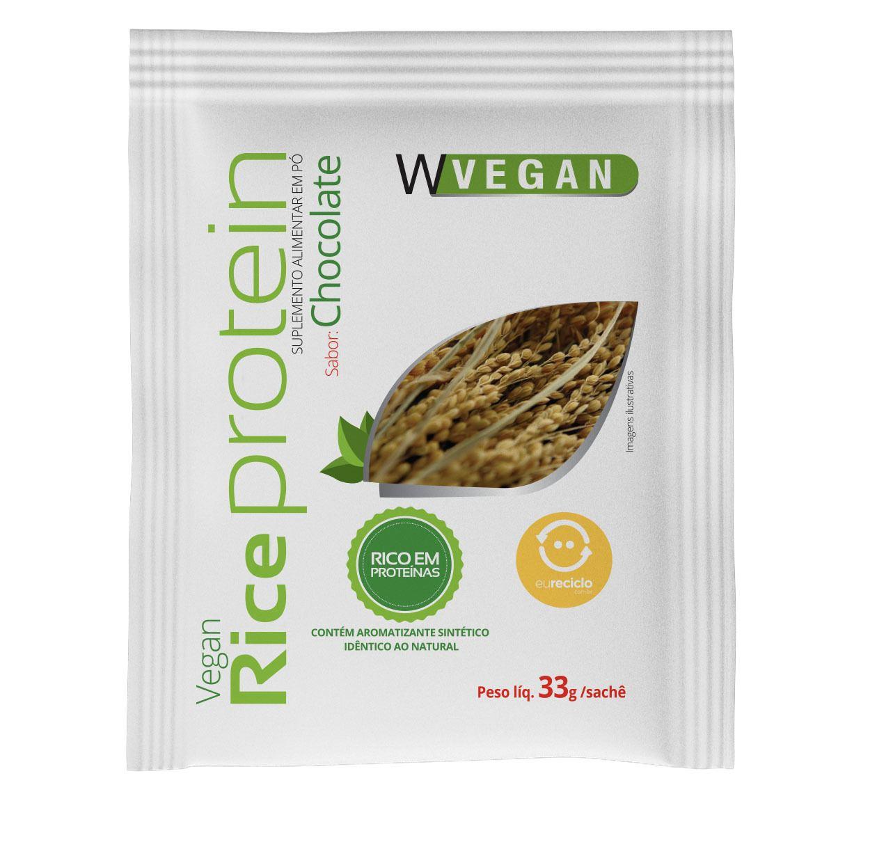 Rice Protein 33g Sache Chocolate WVegan
