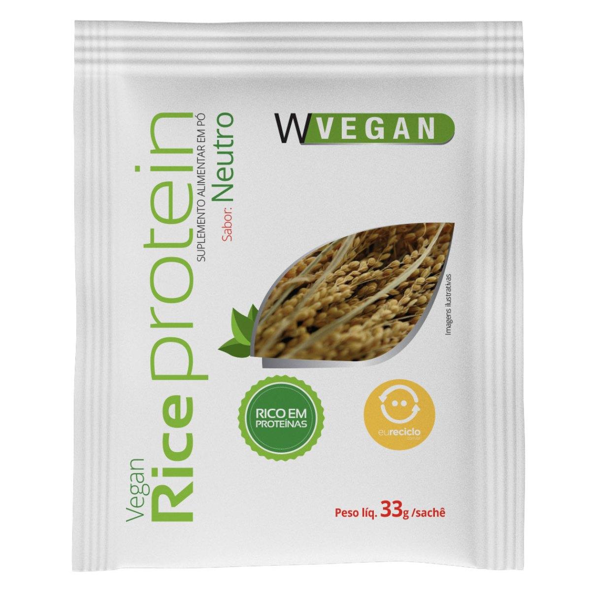 Rice Protein Sache 33g Neutro WVegan