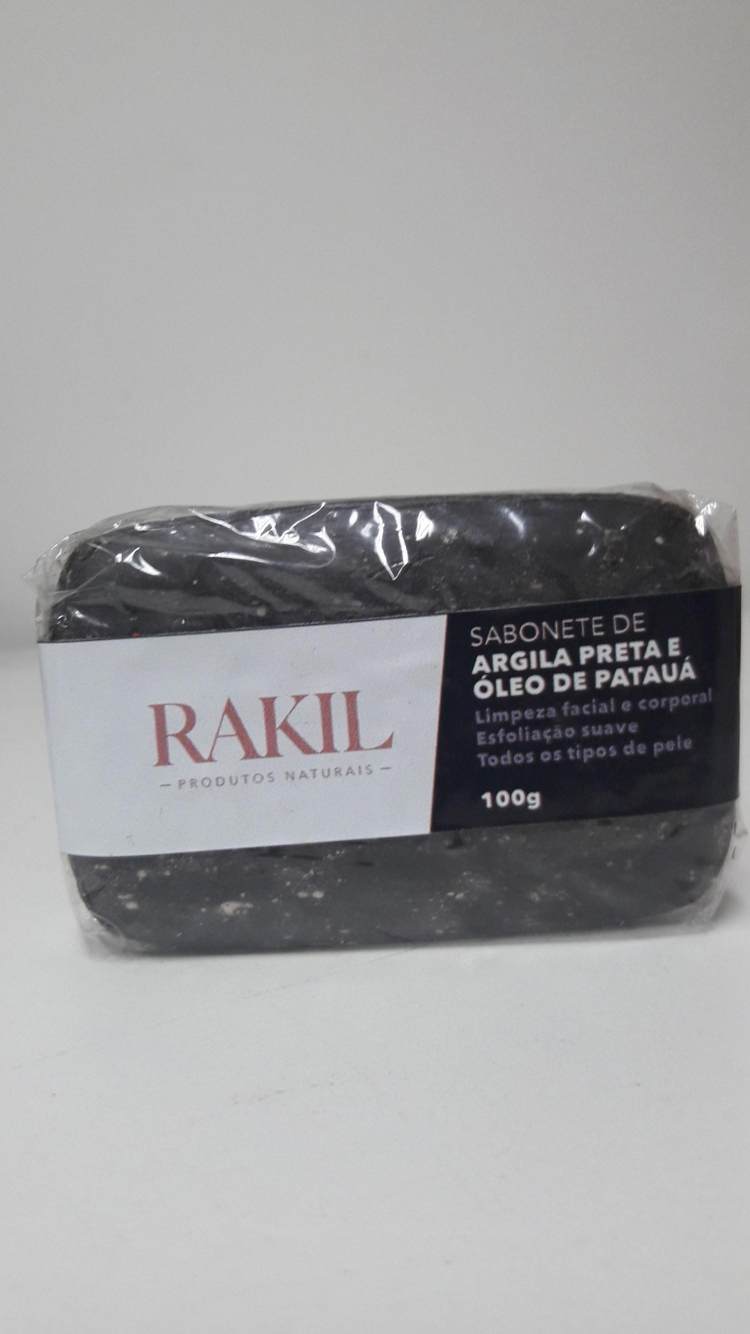 SABONETE ARGILA PRETA ÓLEO DE PATAUÁ 100 g