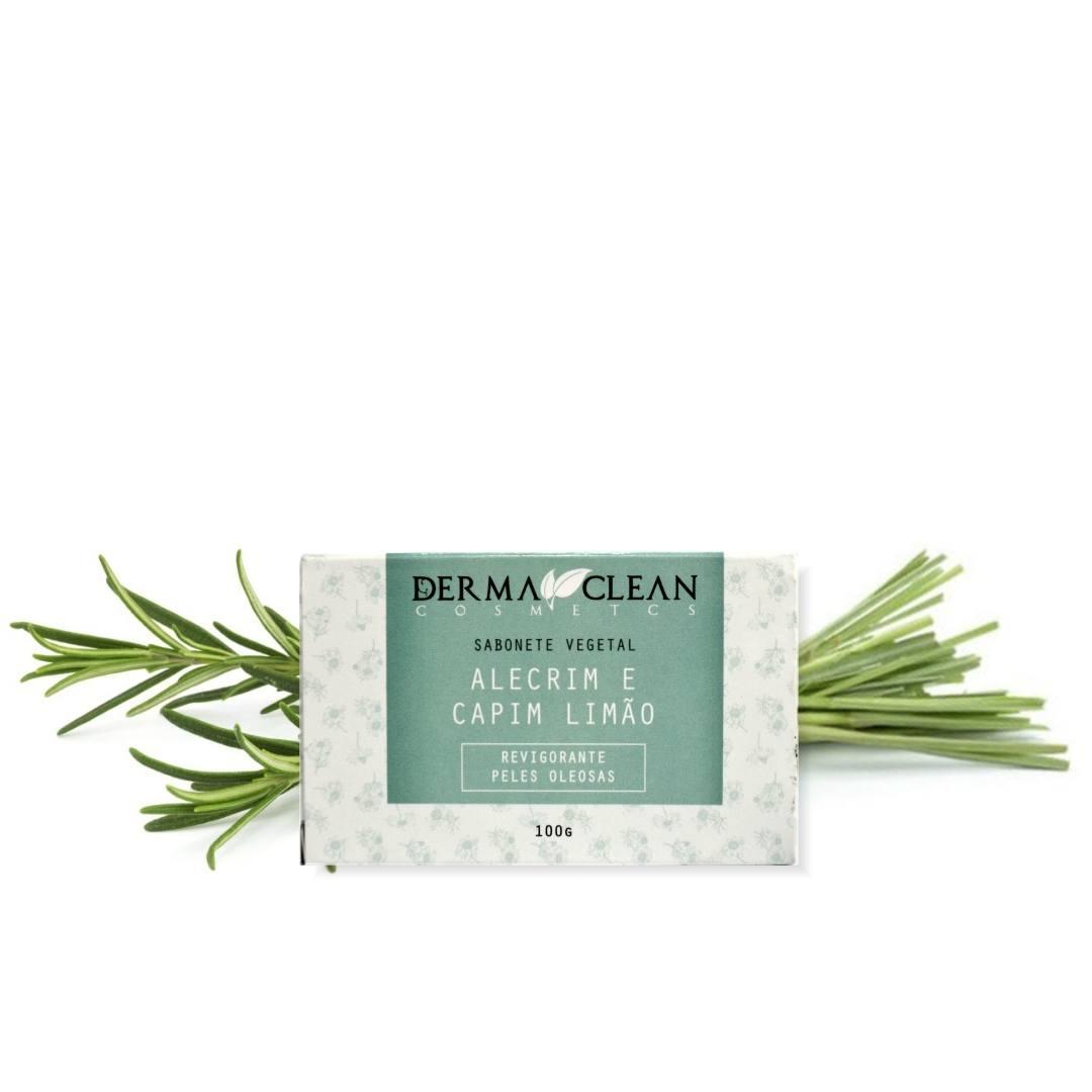 Sabonete de Alecrim com Capim Limão Derma Clean 100g