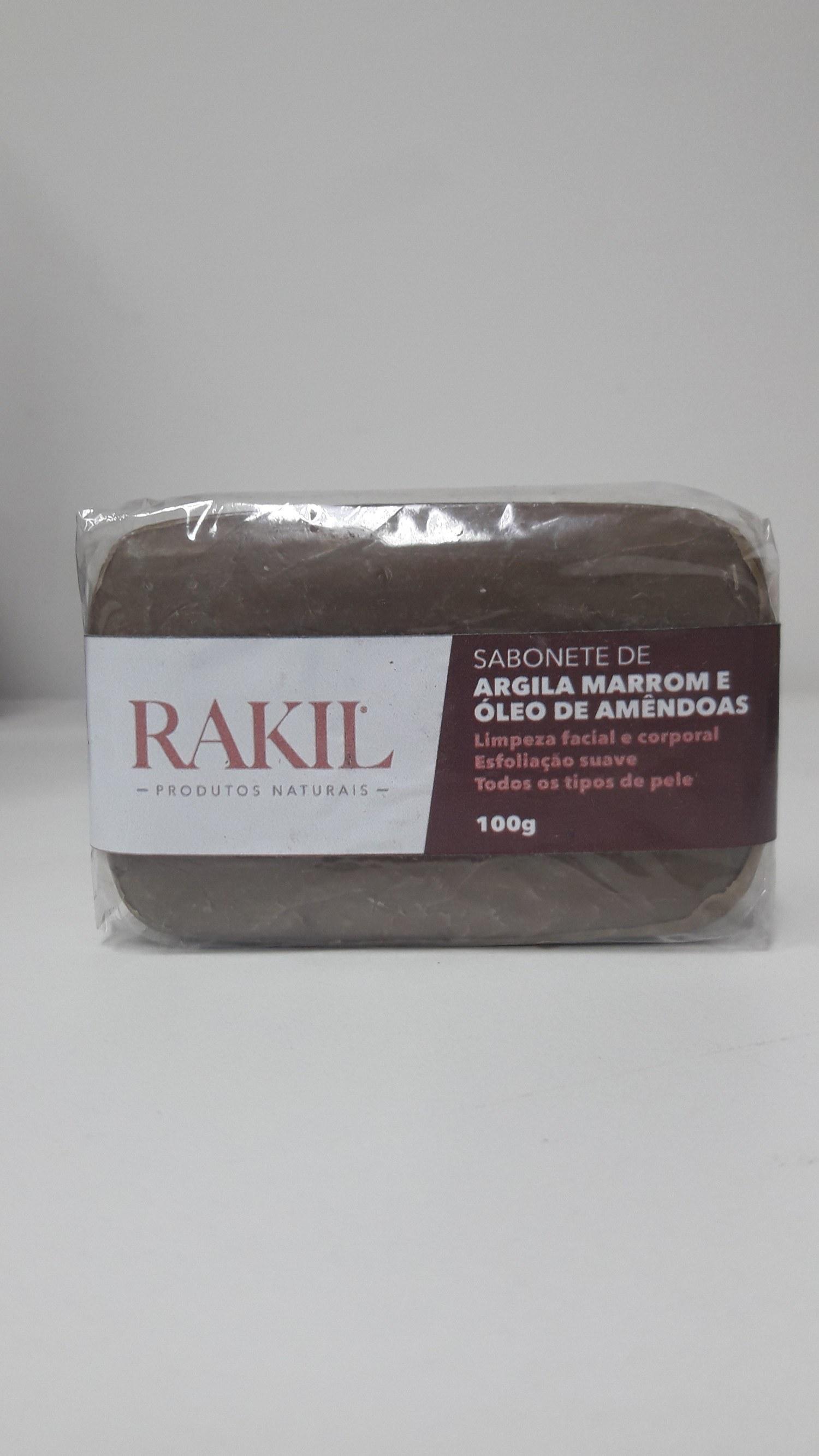 SABONETE DE ARGILA MARROM ÓLEO DE AMÊNDOAS 100 g