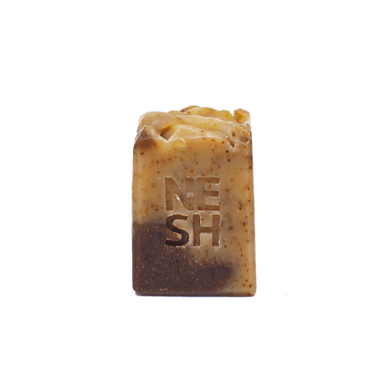Sabonete Esfoliante Natural Corporal Laranja Doce com Café e Cacau - Nesh Cosméticos 85g
