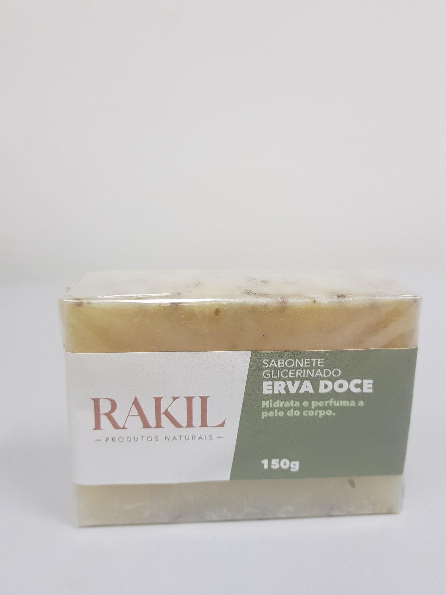 SABONETE GLICERINADO ERVA DOCE 150 g