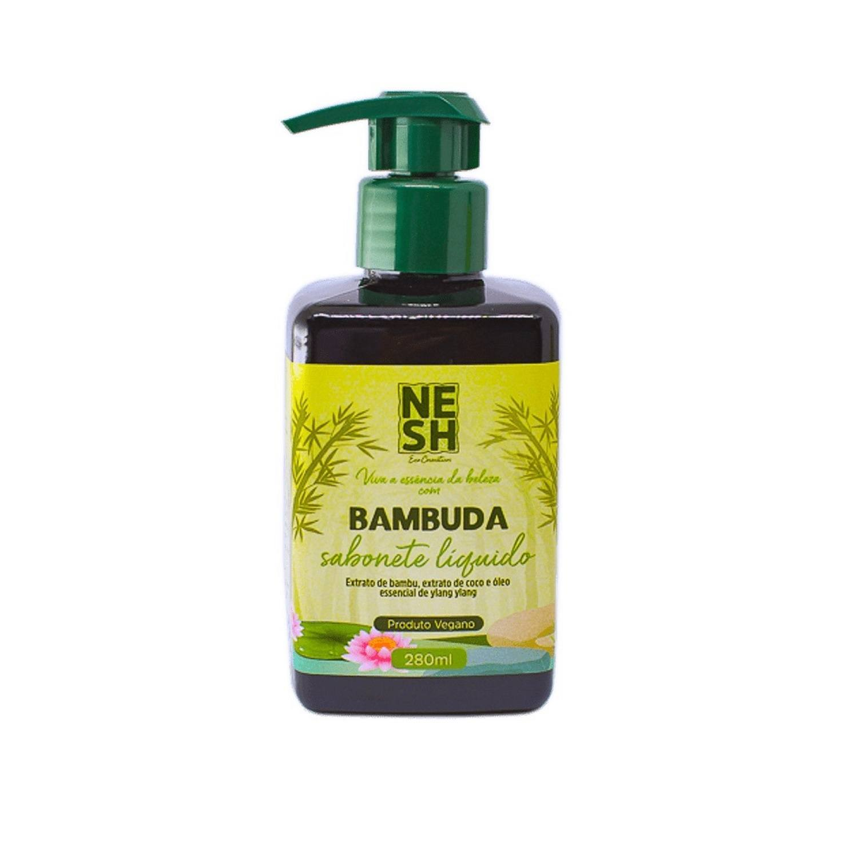 Sabonete Líquido Bambuda - Nesh Cosméticos 280 ml