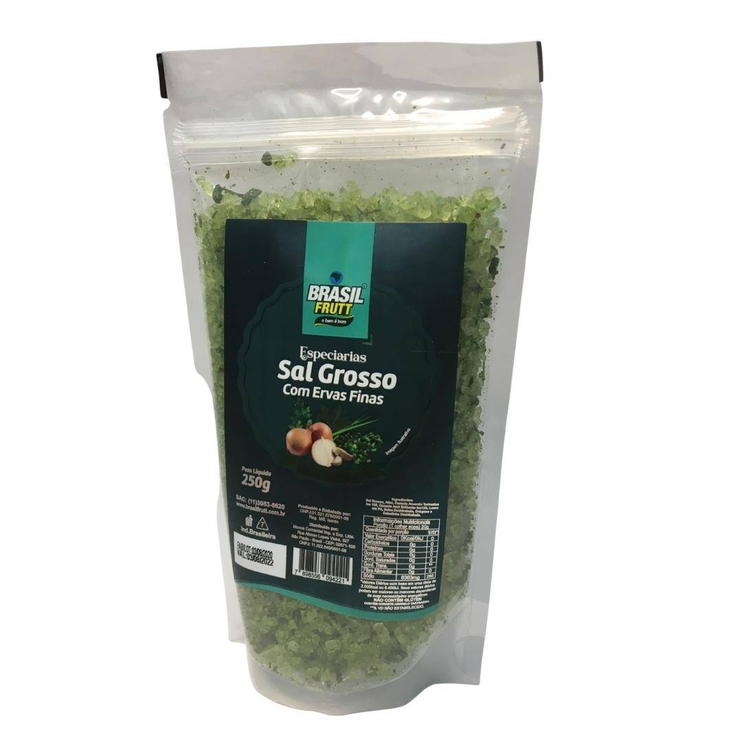 Sal grosso com ervas finas Brasil Frutt 250g