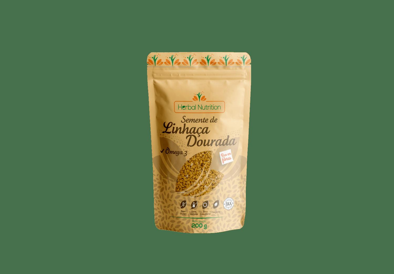 Semente de Linhaça Dourada - Herbal Nutrition 200g