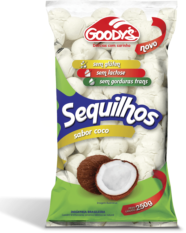 Sequilhos coco Goodys 250g