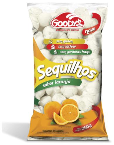 Sequilhos laranja Goodys 250g