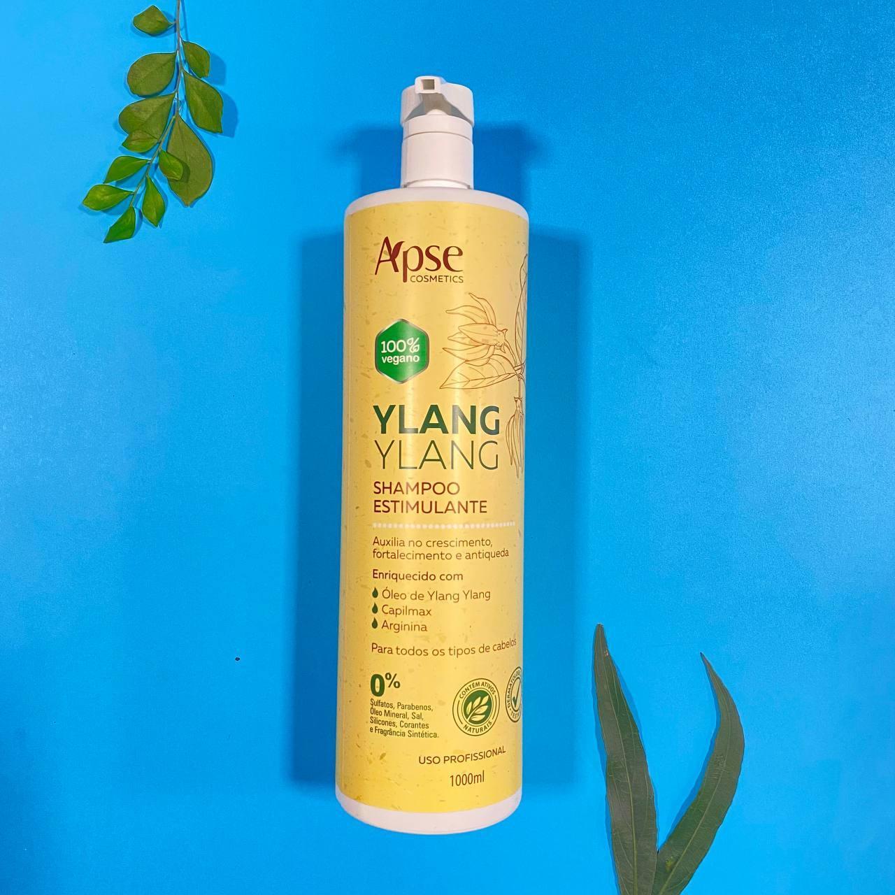 Shampoo Estimulante Ylang Ylang - Apse Cosmetics 1000ml