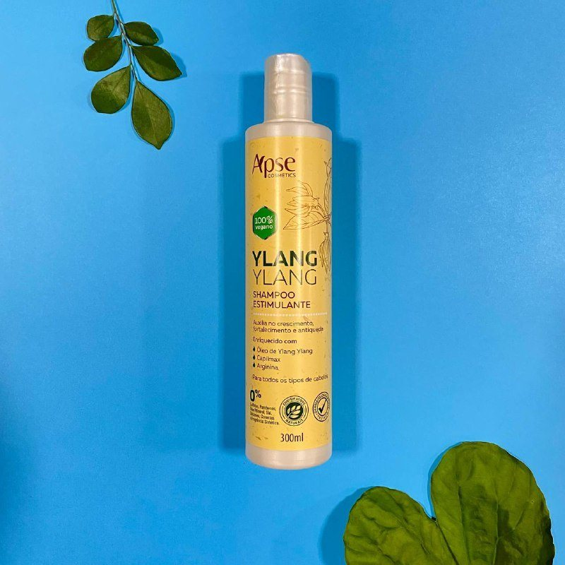 Shampoo Estimulante Ylang Ylang - Apse Cosmetics 300ml