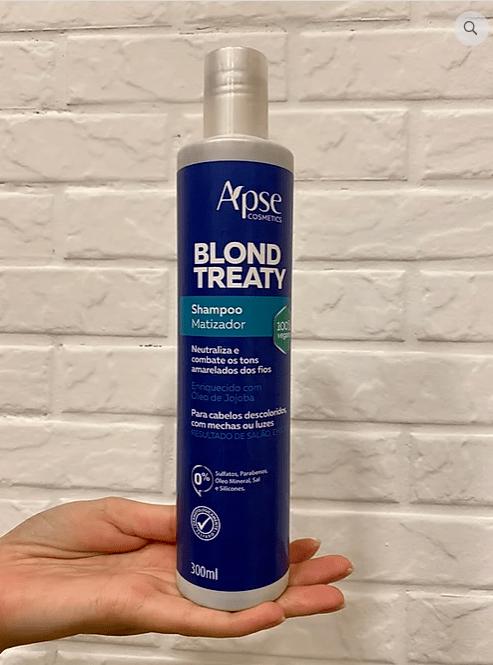 Shampoo Matizador Blond Treaty - Apse Cosmetics 300ml