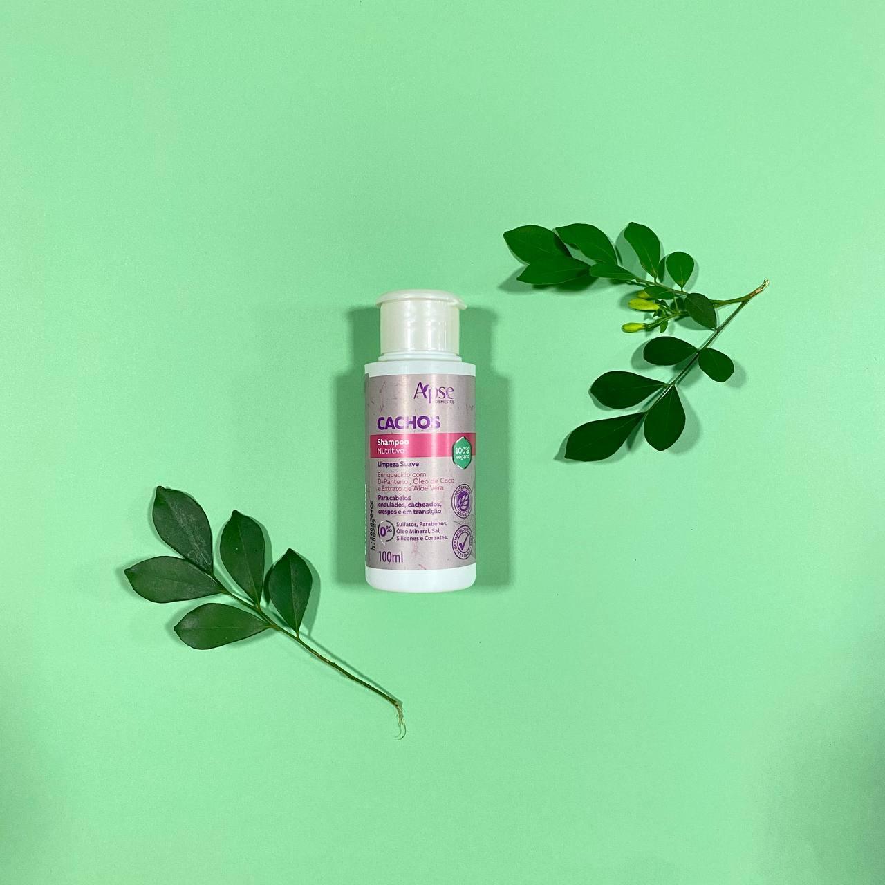 Shampoo Nutritivo Cachos - Apse Cosmetics 100ml