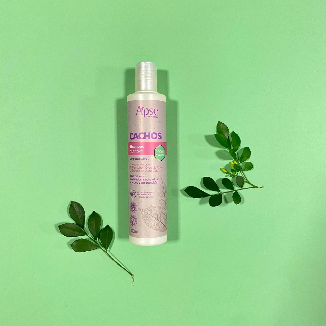 Shampoo Nutritivo Cachos - Apse Cosmetics 300ml