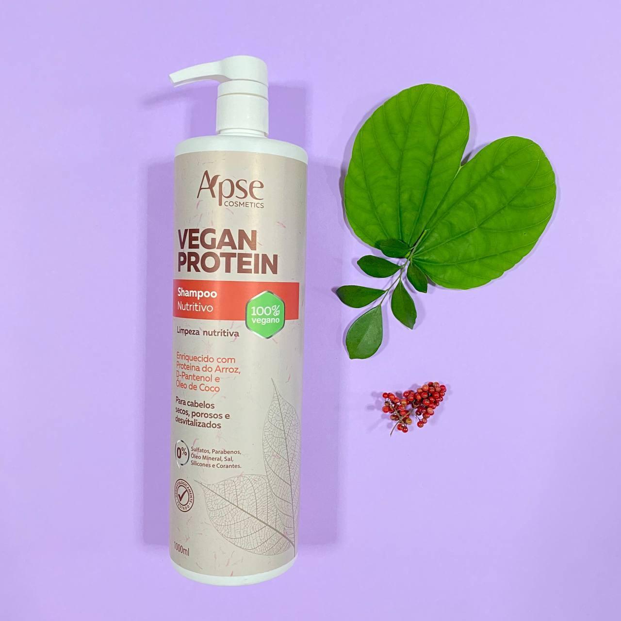 Shampoo Nutritivo Vegan Protein - Apse Cosmetics 1000ml