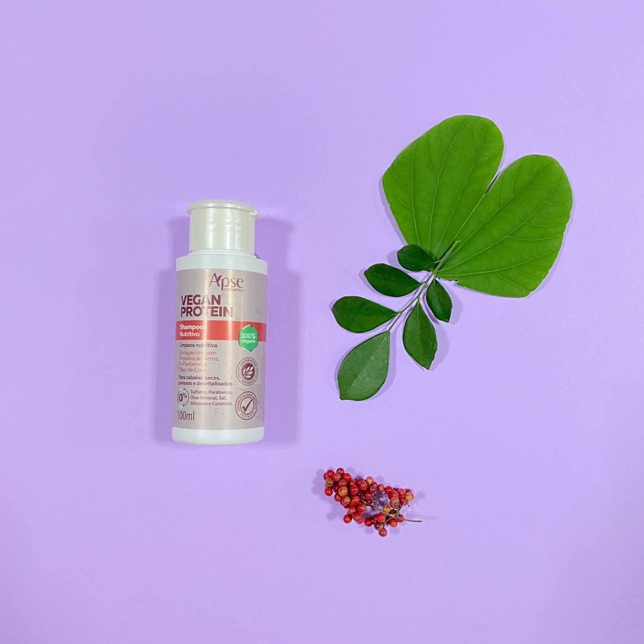 Shampoo Nutritivo Vegan Protein - Apse Cosmetics 100ml