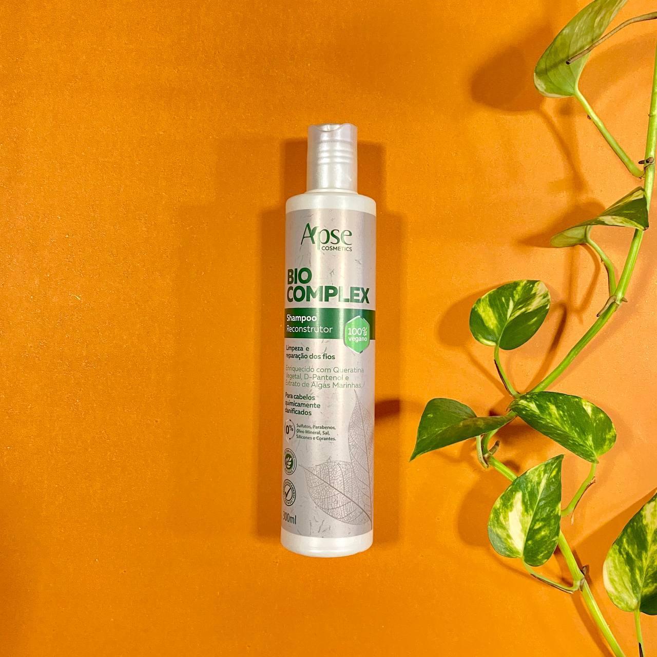 Shampoo Reconstrução Bio Complex - Apse Cosmetics 300ml