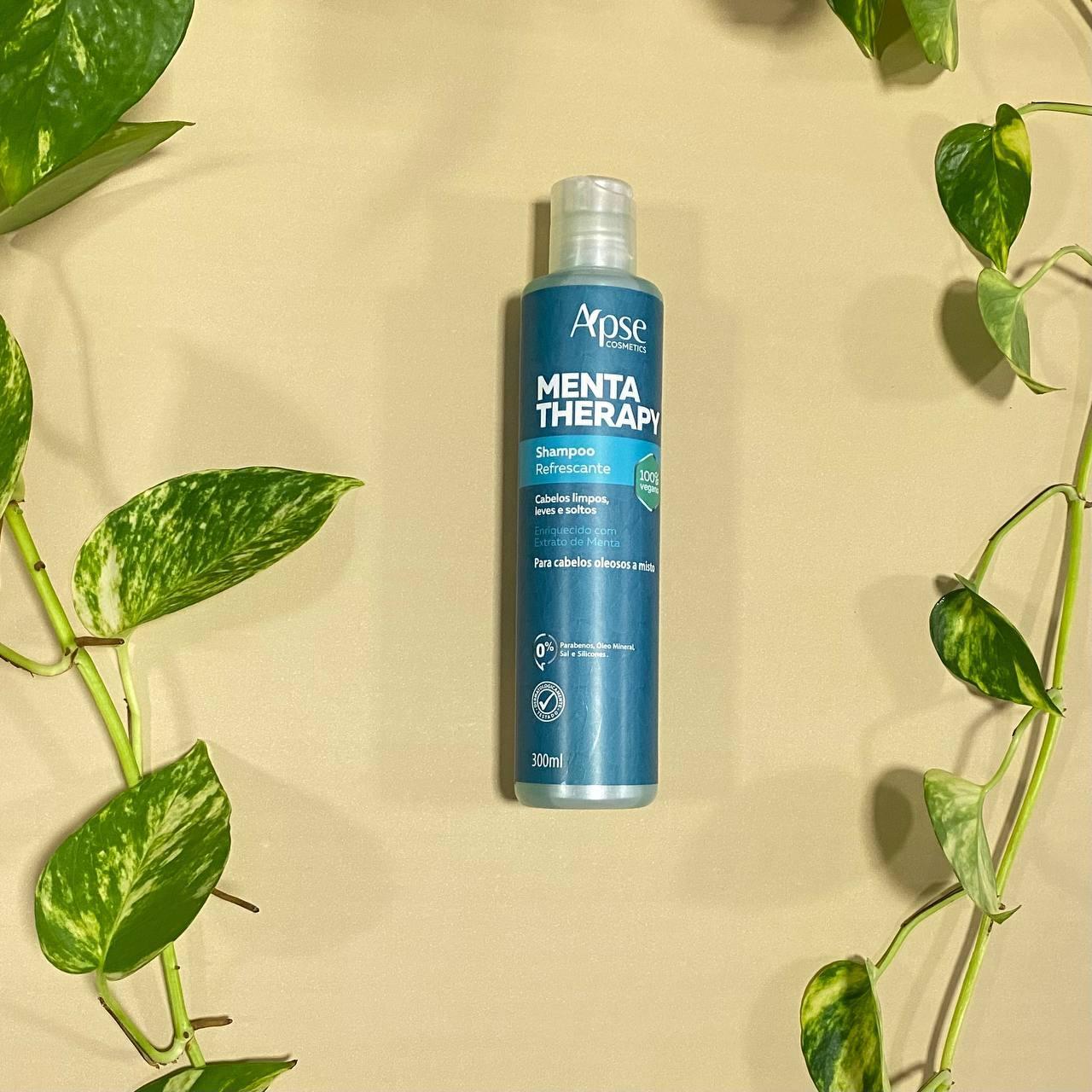 Shampoo Refrescante Menta Therapy - Apse Cosmetics 300ml