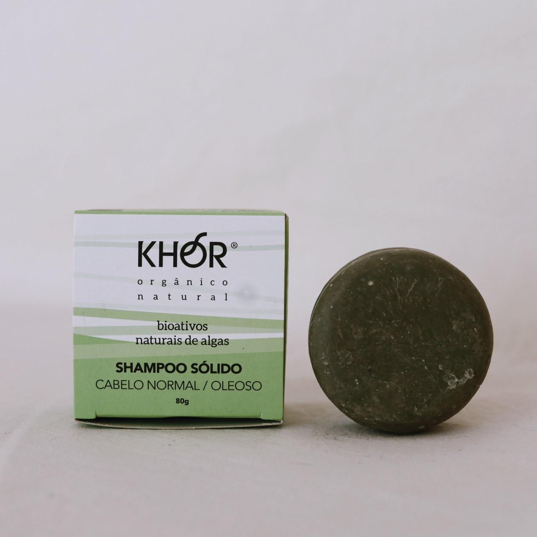 Shampoo Sólido Cabelos normais e oleosos Khor