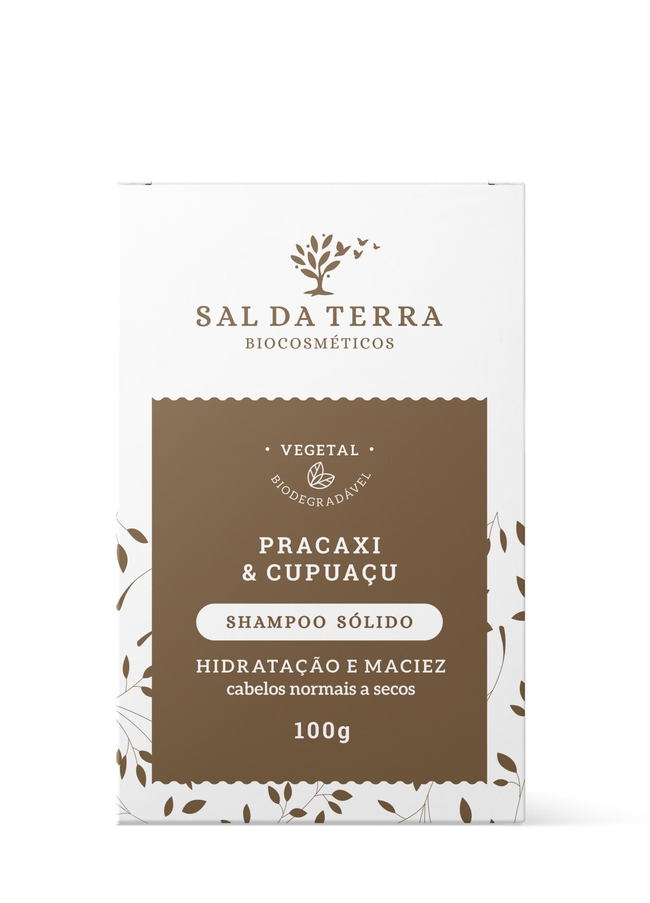 Shampoo Sólido Pracaxi e Cupuaçu 100 g