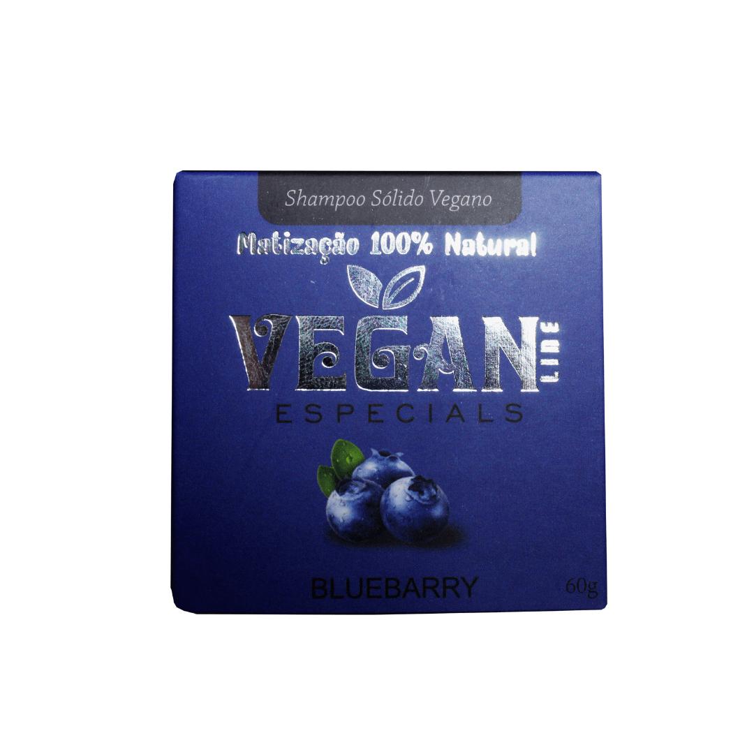 Shampoo Sólido Vegano Matizador Vegan Line 60g