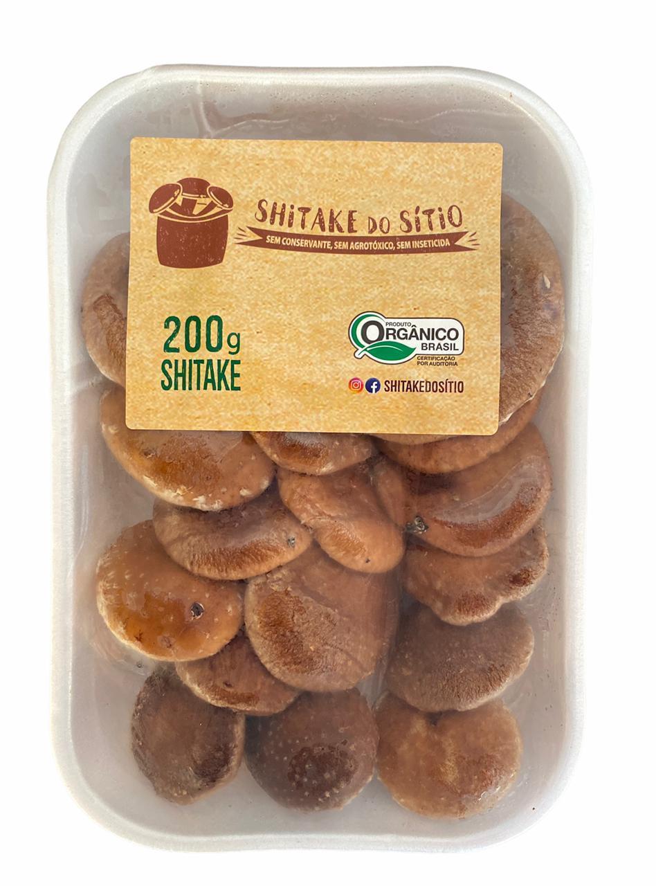 Shitake Premium Inteiro - Orgânicos do Sítio 200g