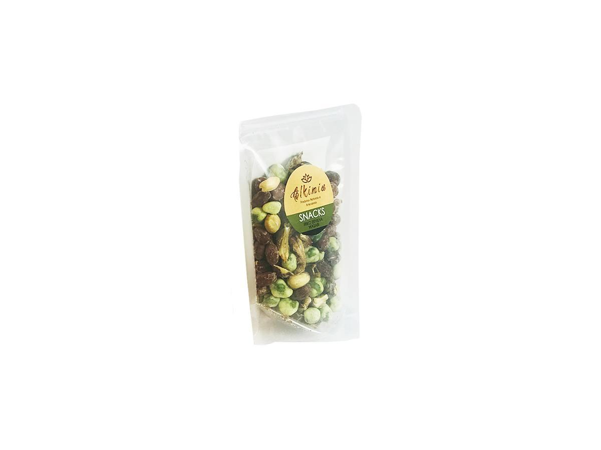 Snack Iriko Ervilha Wasabi Sem Conservantes - Alkimia Simples Assim 750g
