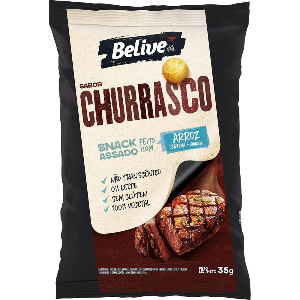 Snacks churrasco Belive 35g