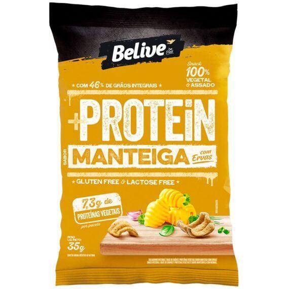 Snacks protein manteiga com ervas Belive 35g