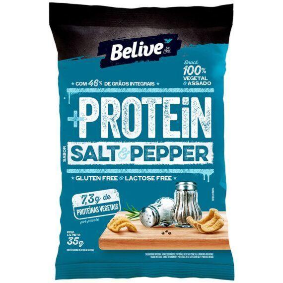Snacks protein salt e pepper Belive 35g