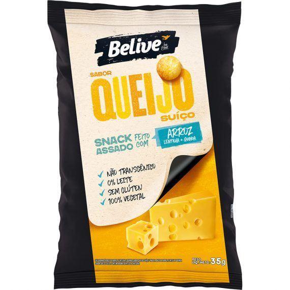 Snacks queijo suiço Belive 35g
