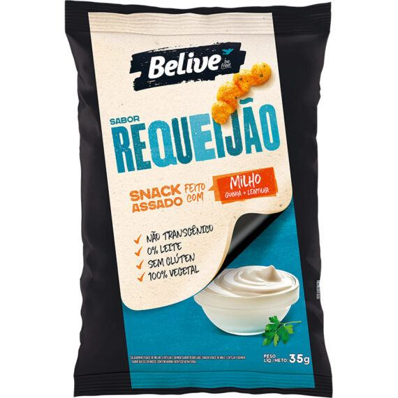 Snacks requeijão Belive 35g