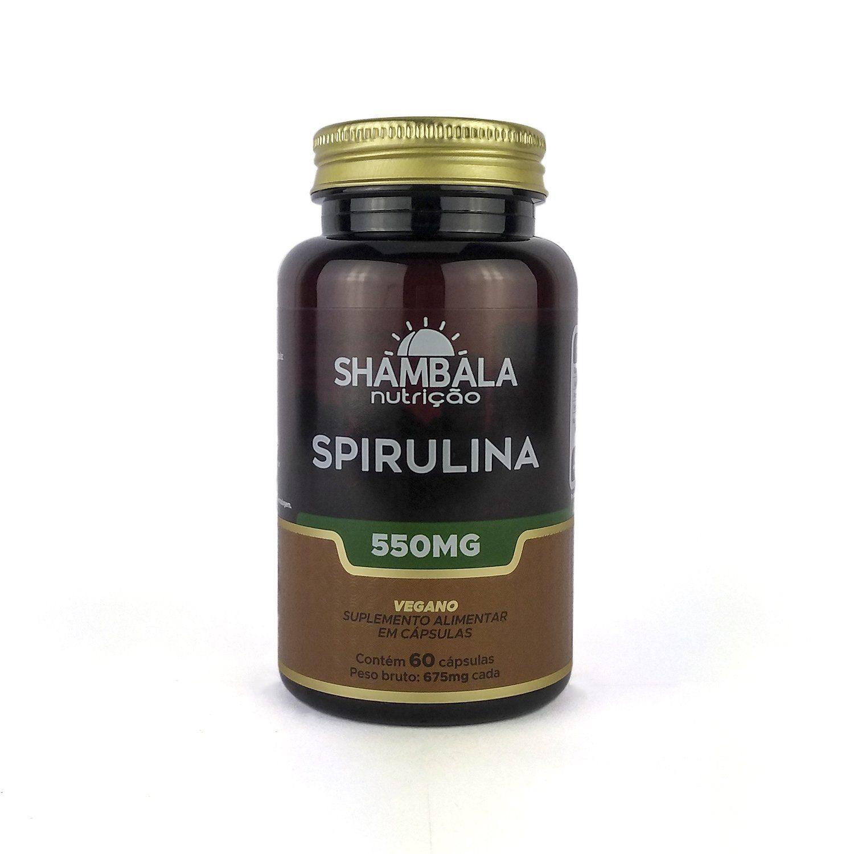 Spirulina Shambala 60 Caps X 550mg