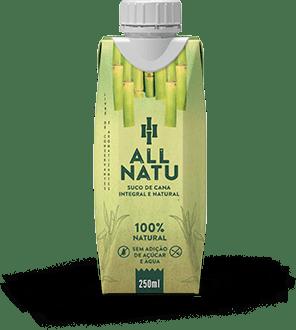 Suco de Cana Integral/Natural All Natu 250 ml