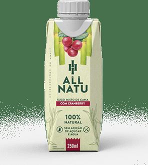 Suco misto de Cana com Cranberry All Natu 250 ml