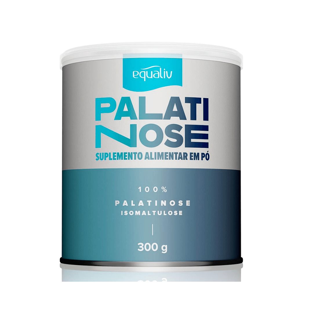 Palatinose Suplemento Alimentar em Pó - Equaliv 300g