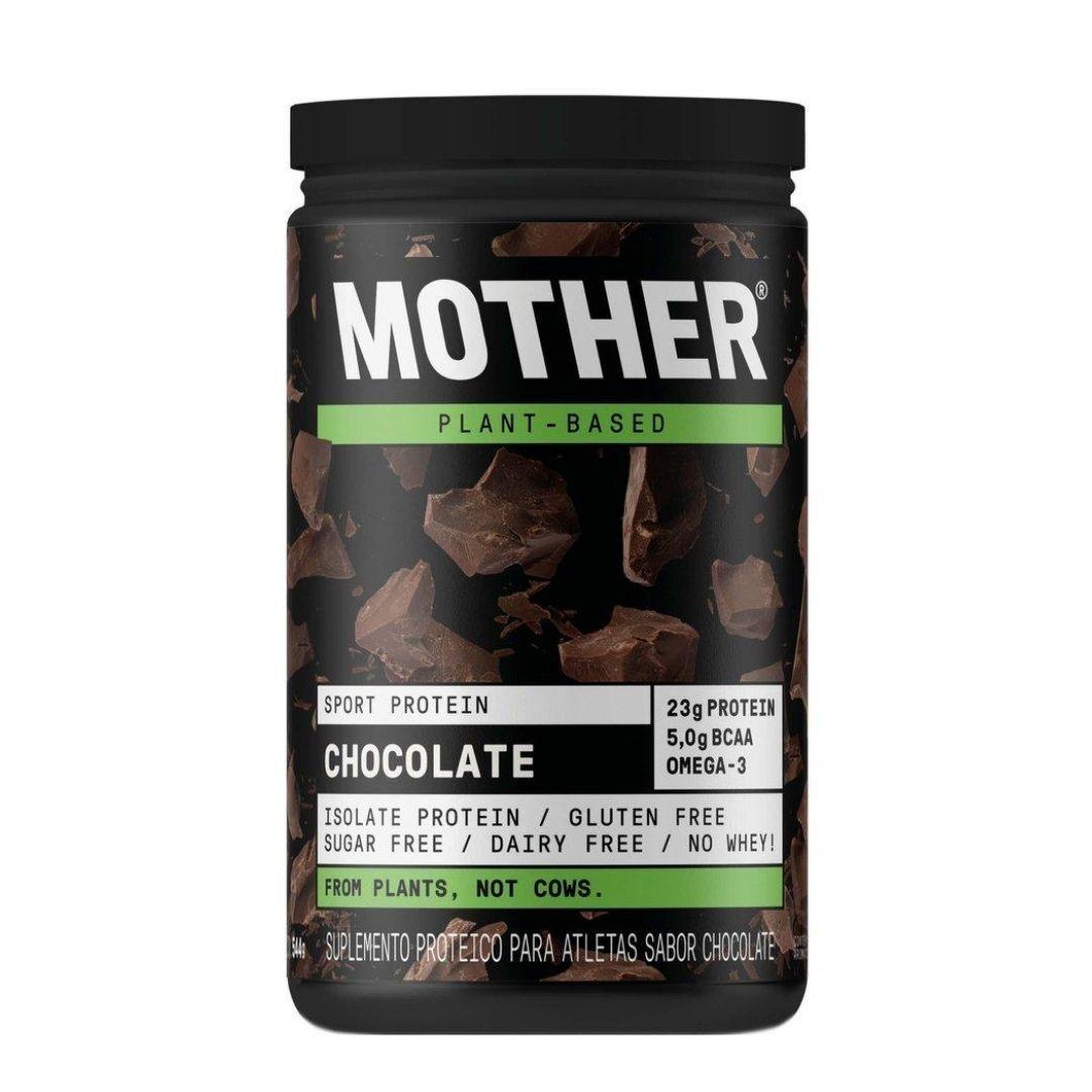 Suplemento Vegano De Proteína Isolada Chocolate  Mother 544g