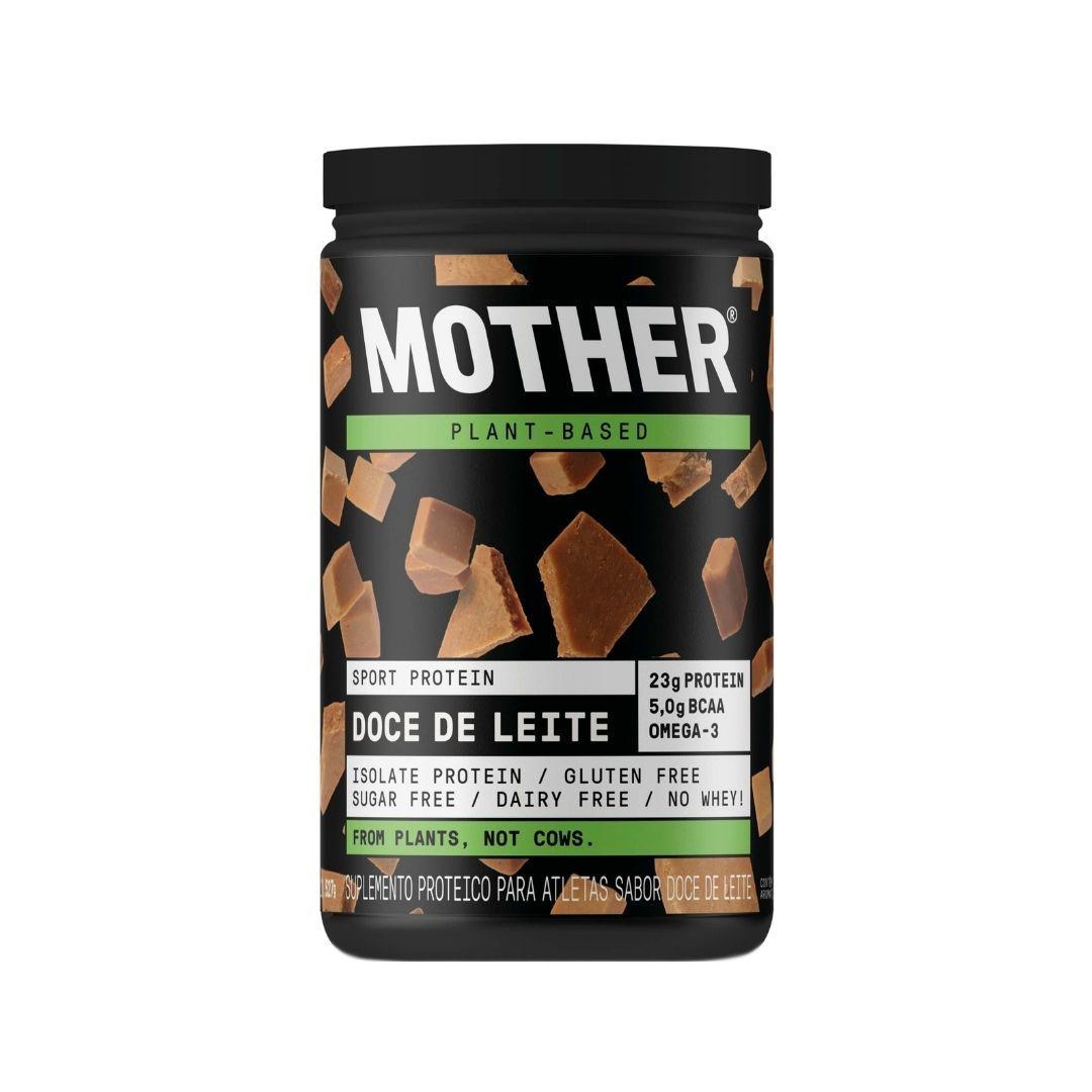 Suplemento Vegano Proteína Isolada Doce de Leite Mother 527g