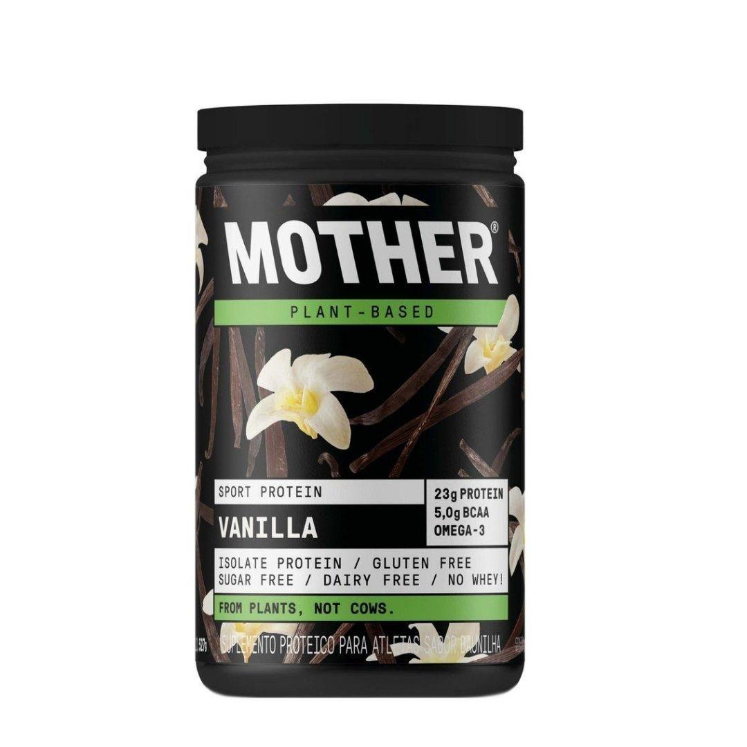 Suplemento Vegano De Proteína Isolada  Vanilla Mother 527g