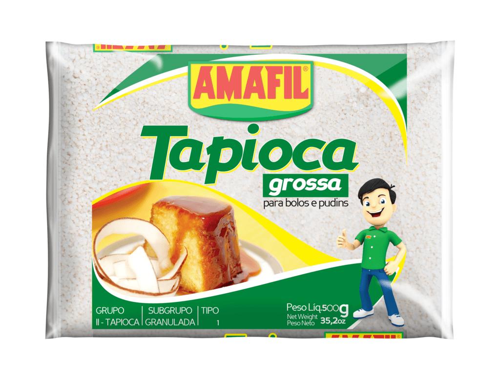 Tapioca grossa Amafil 500g