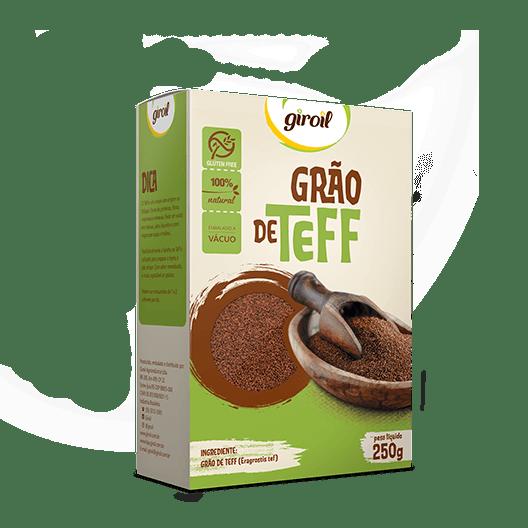 Teff em Grãos – Giroil  250g