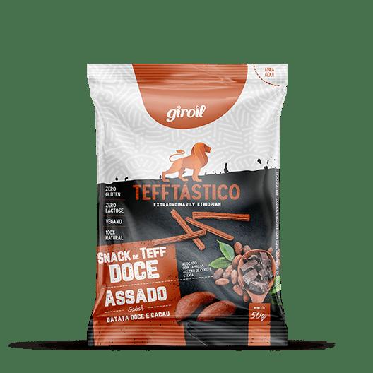 Tefftástico Giroil  (Batata Doce + Cacau) - 50g