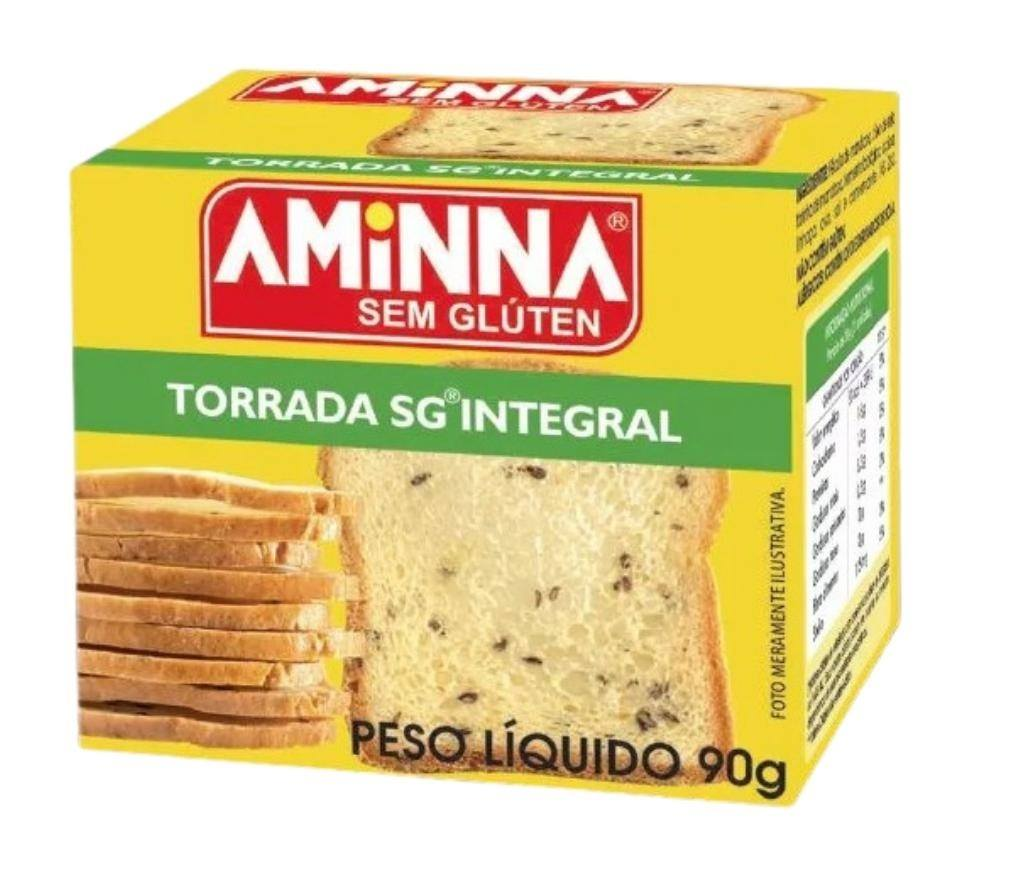 Torrada integral Aminna 90g