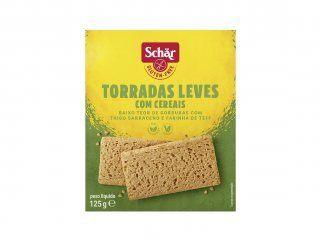 Torrada leve com cereais fette croccanti Dr. Schar 125g