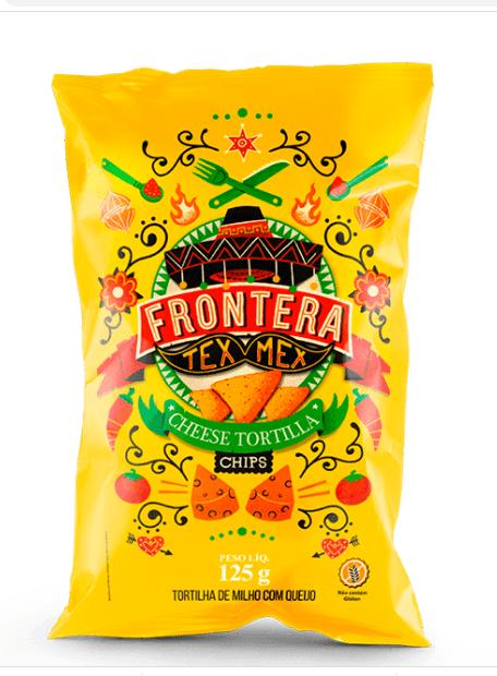 Tortilha chips queijo Frontera 125g