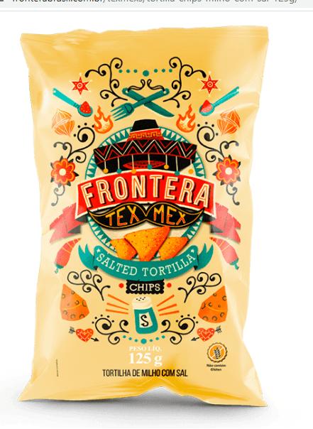 Tortilha chips sal Frontera 125g