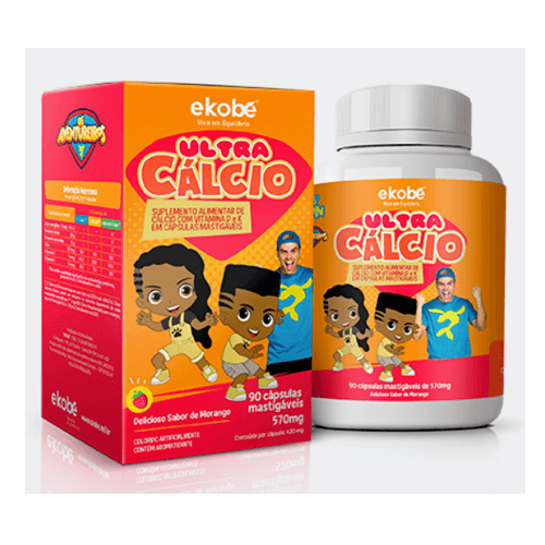 Ultra Cálcio - Ekobé 90 Cápsulas