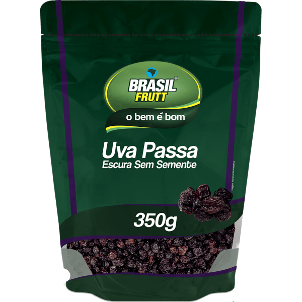 Uva passa escura Brasil Frutt 200g