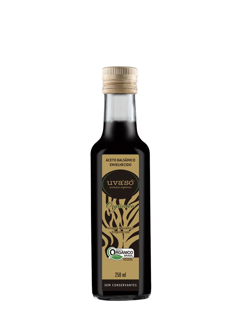 Vinagre Balsâmico Envelhecido Orgânico Uva'Só 250ml