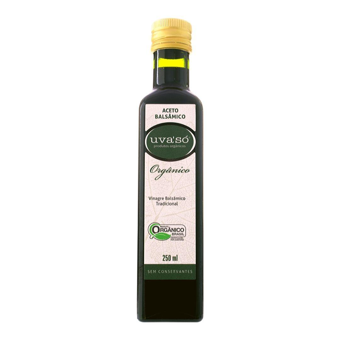 Vinagre Balsâmico Orgânico Uva'Só  250ml