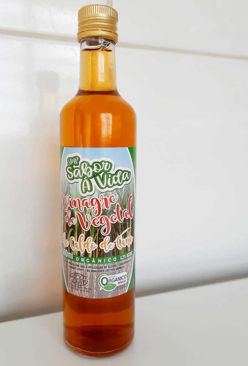 Vinagre Vegetal de Caldo de Cana Orgânico - SMP Sabor À Vida 500ml